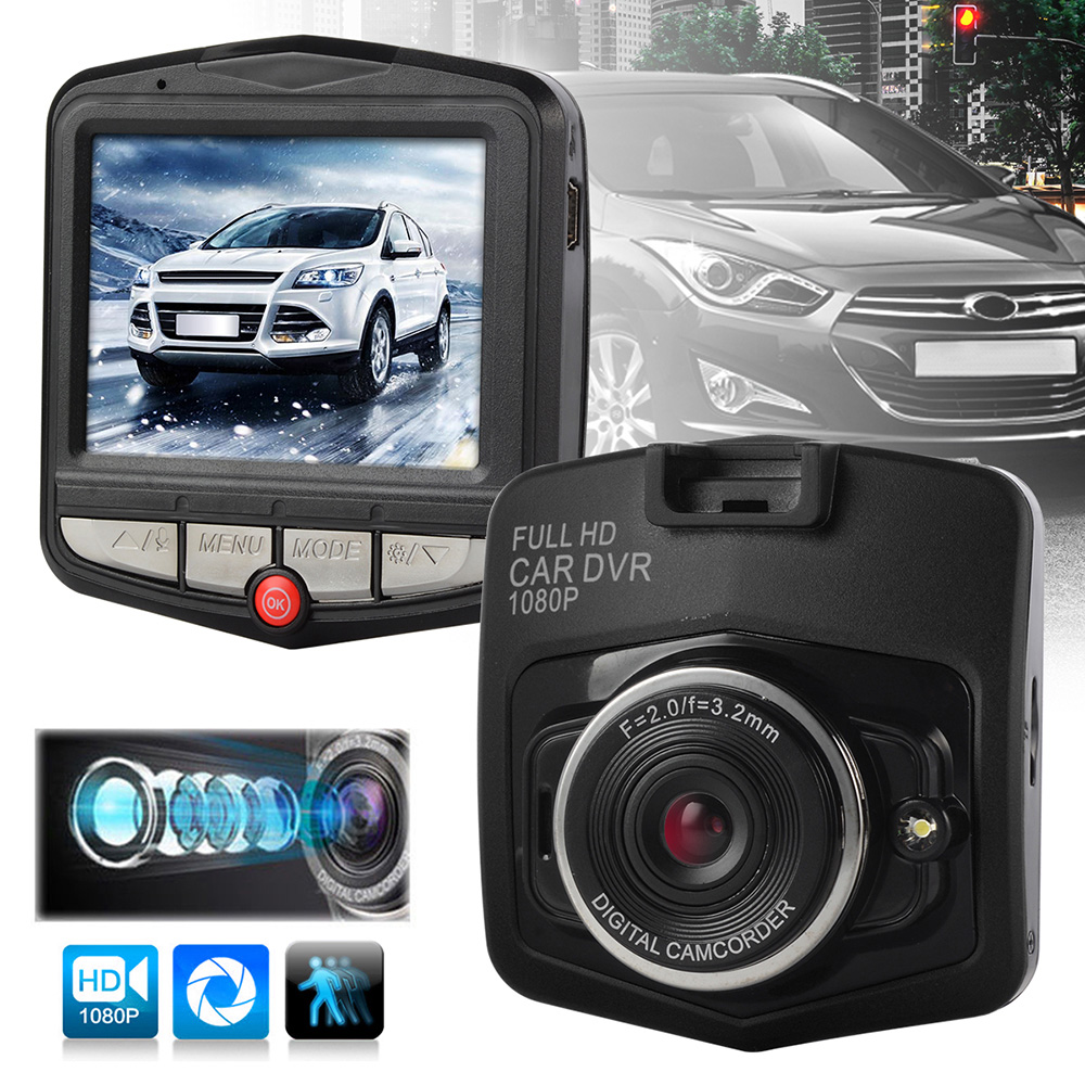 Portable Car Parking RecorderMini DVRs Car Camera Record Camcorder Video registrator Loop G-Sensor DVR