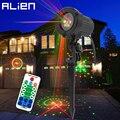 Наружный лазерный светильник ALIEN  12 моделей  красный  зеленый  110 В  220 В  водонепроницаемый лазерный садовый светильник