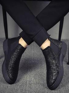 Breathable Chelsea Boots Shoes Ankle-Botines Flats-Platform Bota Designer Fashion Male