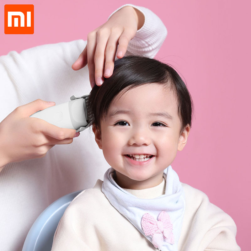 New Xiaomi MiTu Baby Hair Clipper Safe IPX7 Waterproof Electric Hair Trimmer Silent Motor USB Rechargeable for Children Barber