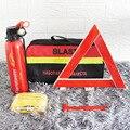 Автомобильный Огнетушитель небольшой Портативный Аварийный спасательный набор для автомобиля рисунком «машинки», мульти-функциональные ...