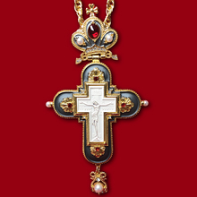 Jewelry Cross-Chain Prayer-Items Crucifix Orthodox Jesus Pectoral Religious Pendants