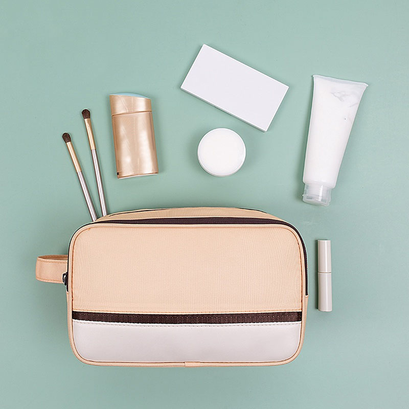 Portable Cosmetic Bag Dry And Wet Separation Travel Makeup Organizer Waterproof Wash Bag Large Capacity Toiletries Pack Tote