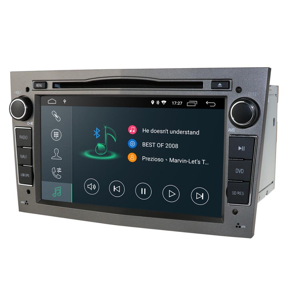 Android 10 1024X600 7 дюймов 2din автомобильный GPS dvd-плеер для Opel Astra h g Zafira B Vectra C D Antara комбо Радио Аудио