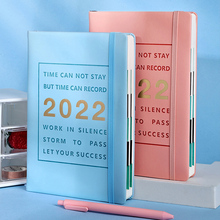 Agenda 2022 Planner Organizer A5 Notebook and Journal 365 Day Notepad Diary Calendar Note Book Office Stationery Sketchbook Plan