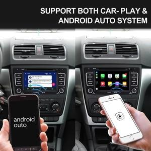 Image 3 - Isudar Android 9 Авторадио для SKODA/Octavia 2009 2013 Автомобильный мультимедийный плеер 2 Din DVD gps 4 ядра ram 2 Гб rom 16 Гб fm радио