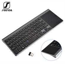 Беспроводная клавиатура seenda с сенсорной панелью и цифрами