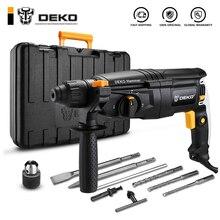 DEKO GJ181 220 в 30 мм 4 функции AC Электрический Перфоратор с BMC и 5 шт. аксессуары Ударная дрель мощная дрель электрическая дрель