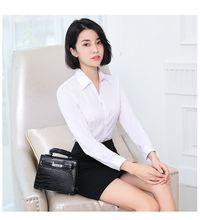 Женские блузки офисные женские рубашки без сексуальные с длинным