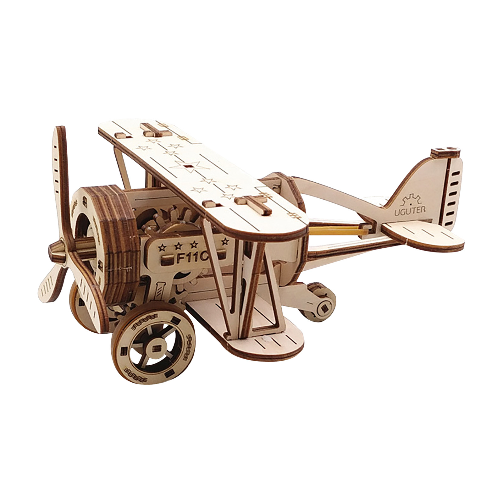 2020 DIY Manual Splicing Model Of 3D Children's Wooden Mechanical Transmission Puzzle Wooden Splicing Toys F Fast Ship 11