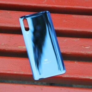 Image 3 - Xiao Mi Xiaomi Mi Original Glass Battery Rear Case For Xiaomi MI 9 Mi9 Xiaomi 9 Phone Battery Back Cover Backshell +Tool