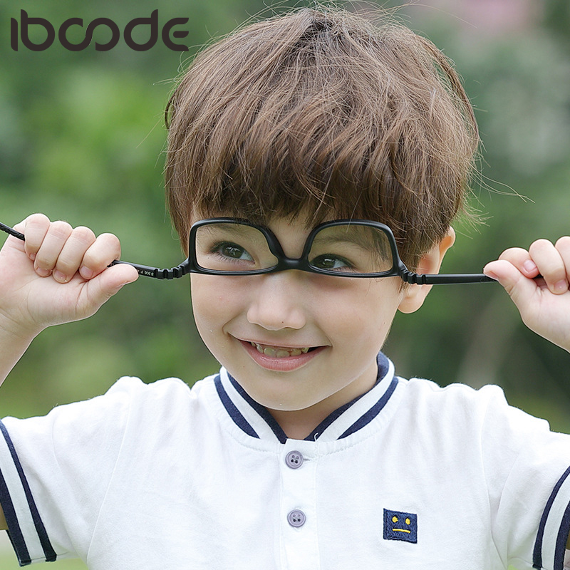 Iboode Optical Children Glasses Frame TR90 Silicone Boys Girls Flexible Eye Protective Kids Eyeglasses Eywear Oculos De Grau New