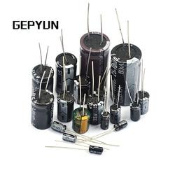 5 pces 10*20mm 400v 15uf alumínio capacitor eletrolítico 10x20mm