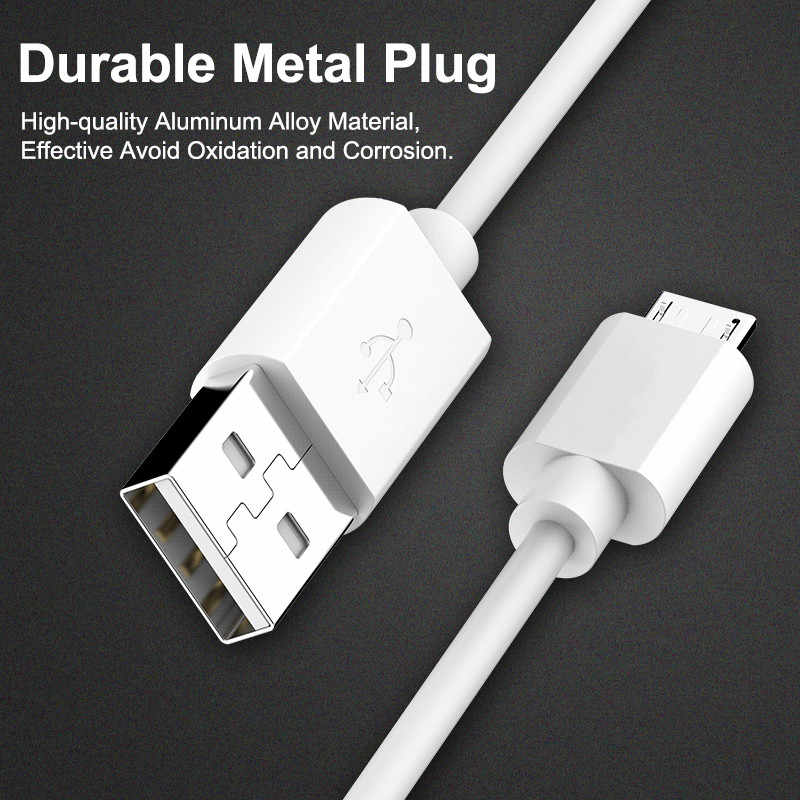 Micro USB Cable 2.4A Fast Charge USB Data Cables For Huawei Samsung Xiaomi Android Mobile Phone USB Charging Cord 0.2m/1m/2m/3m