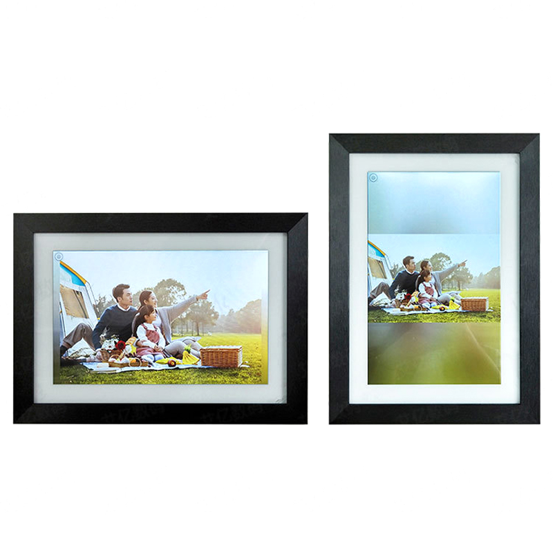 10.1 WiFi Digital Photo Frame Download APP 16GB Picture Video Music Weather Calendar Home Decoration Album Touch Screen Display image