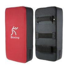 Almohadilla rectangular para golpear el pie, escudo para golpear, boxeo, Karate, entrenamiento