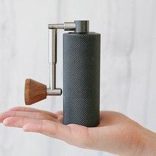 Tianmore kasztan Nano młynek do kawy składany aluminiowy przenośny rdzeń szlifierski ze stali super ręczny młynek do kawy Dulex bearing