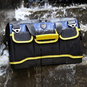 Image 2 - Sac à outils multifonction grande capacité épaissir les outils de réparation professionnelle sac 13/16/ 18/20 sac à outils
