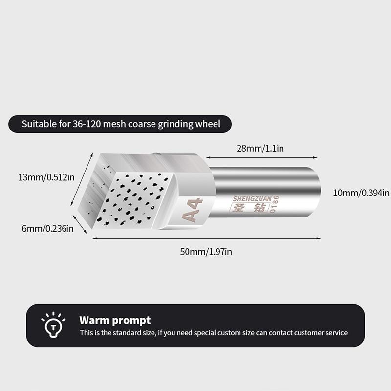 1PCS Diamond Dresser Cabeza cuadrada para disco de molienda Rueda - Herramientas abrasivas - foto 3