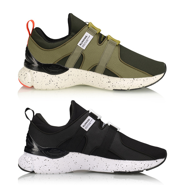 (Break Code)Li-Ning Men CRAZYRUNX Cushion Running Shoes Wearable Anti-Slippery LiNing Breathable Sport Shoes Sneakers ARHP135 2