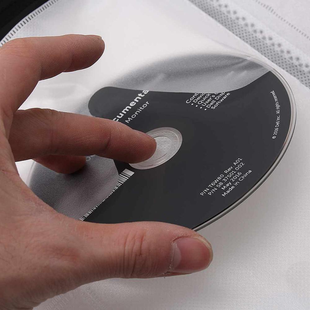 lowest price 128 CDs Car Disc Storage Bag CD Wallet DVD Large Capacity Travel Box Zipper Space Saving Holder Home Black
