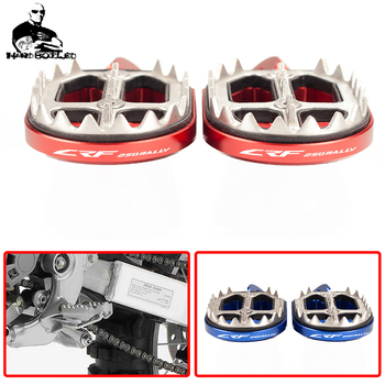For Honda CRF250RALLY CRF250 RALLY CRF 250 RALLY Motorcycle accessori Rear Passenger Foot Pegs Pedals Footrest Scooter Foot-Peg 1 set motorcycle front footrest pedal foot pegs foot pegs pedals for honda cb250 cbr600f cb600f nc700