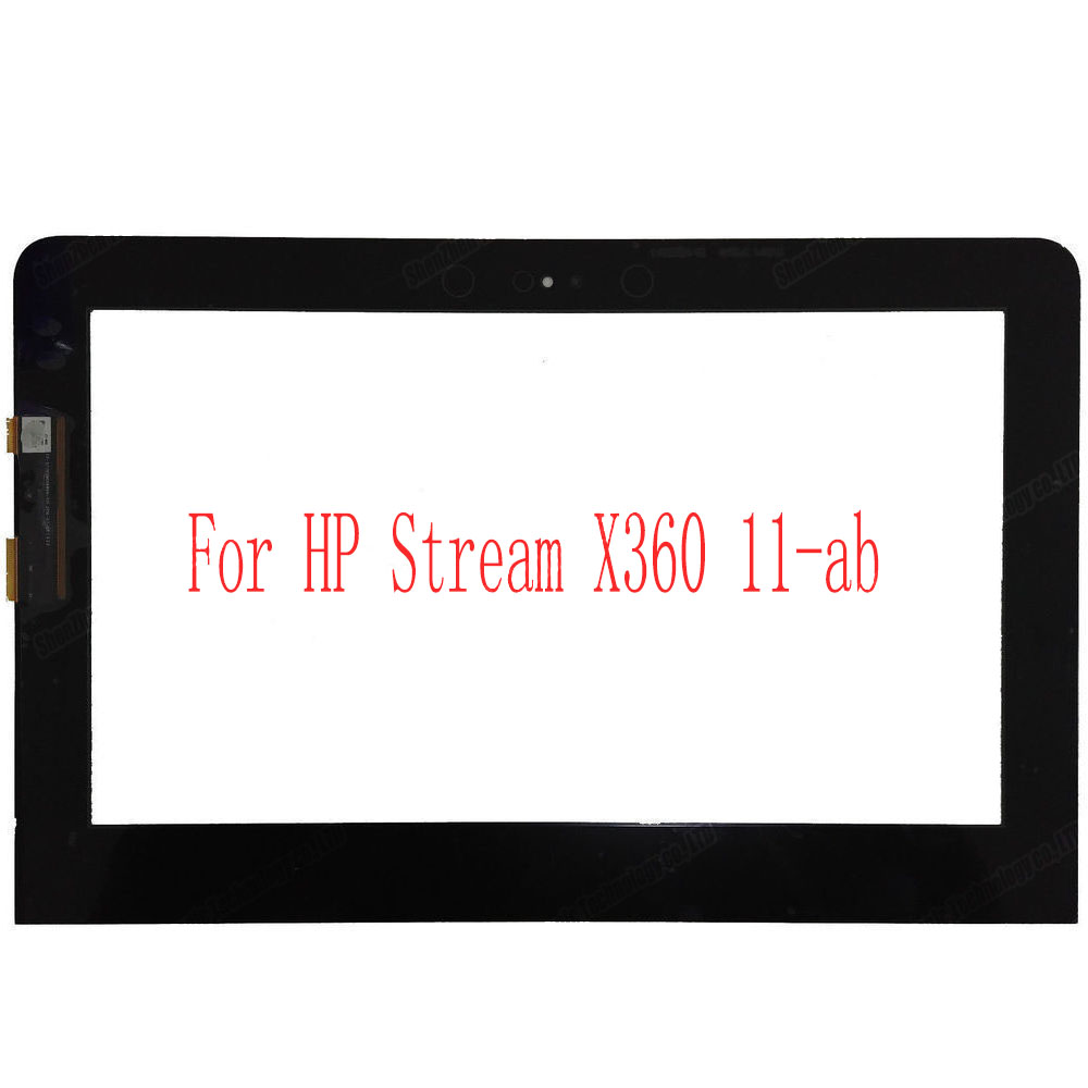 11.6 Inch Touch Screen Digitizer Replacement For HP Pavilion X360 11-AB Series FP-ST116SM006WKM-01X