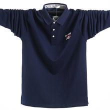 Мужская рубашка поло размера плюс 5x l мужские деловые повседневные