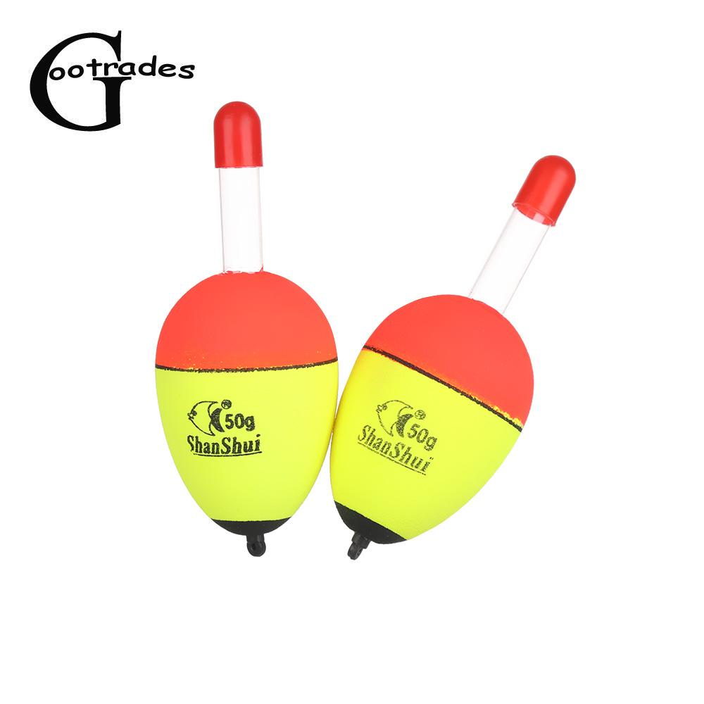 2pcs/set Luminous Floating Floats Sea Rock Fishing Striking Hard Tail Belly Floats 5g/8g/10g/15g/20g/30g/40g/50g/60g/70g/80g
