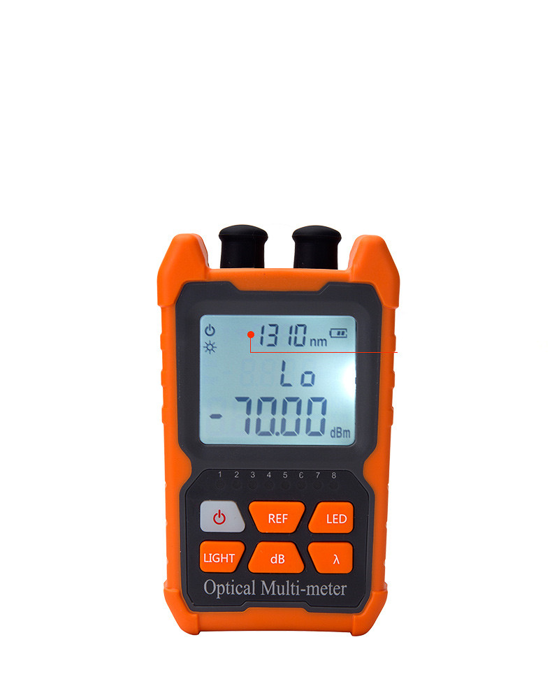 Multifunction Optical Power Meter Mini 4 In 1  Visual Fault Locator Network Cable Test Optical Fiber Tester 5km 15km VFL