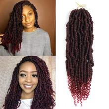 Spring Passion Synthetic Bomb Twist Crochet Hair 14