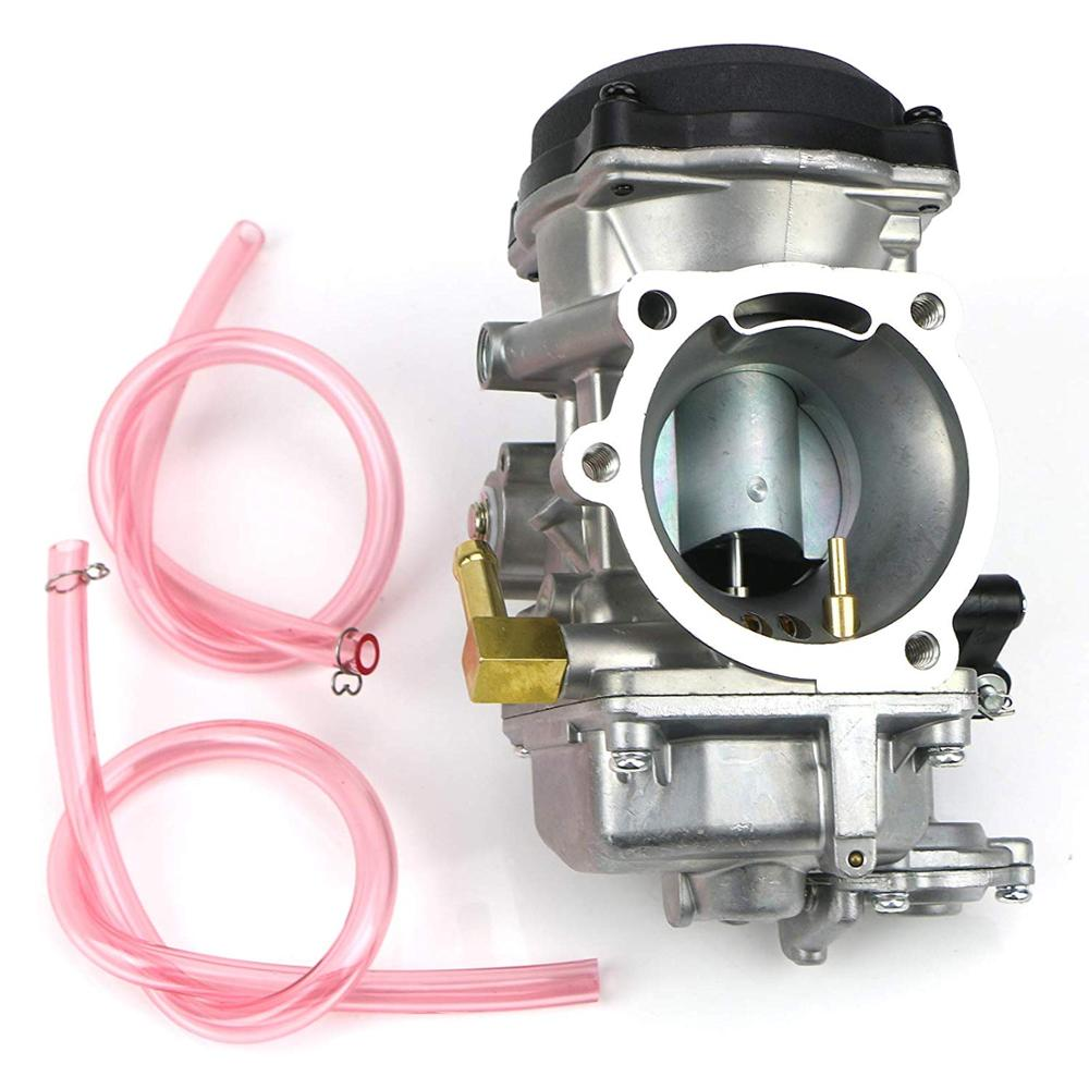 Carburetor for Harley Davidson 40mm CV 40 XL883 Carb with Choke Cable//Spark Plug