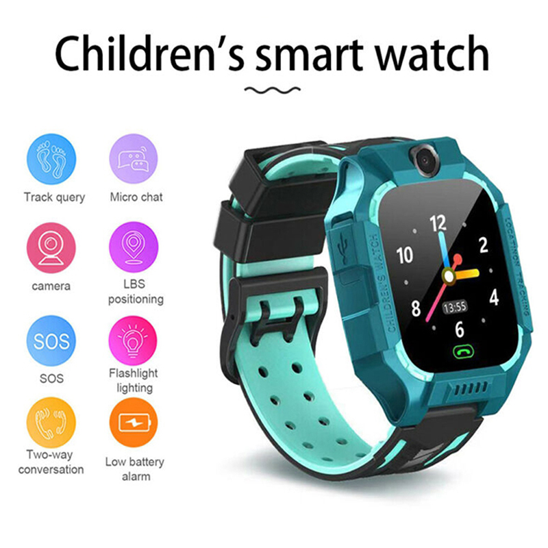 Reloj inteligente para niños Cámara Anti-Pérdida impermeable 2G tarjeta SIM GPS localización de llamadas relojes deportivos reloj inteligente v5.1