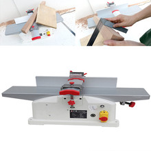 1280W Woodworking Planer Machine Bench High-power Electric Single-sided Household Small Desktop 220v High-speed Planer