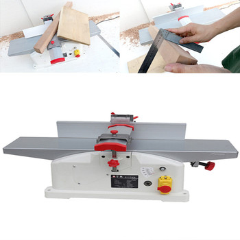 1280W Woodworking Planer Machine Bench High-power Electric Single-sided Household Small Desktop 220v High-speed Planer 13 inch woodworking planer single sided planer desktop multi function planer household electric tool electric planer planer