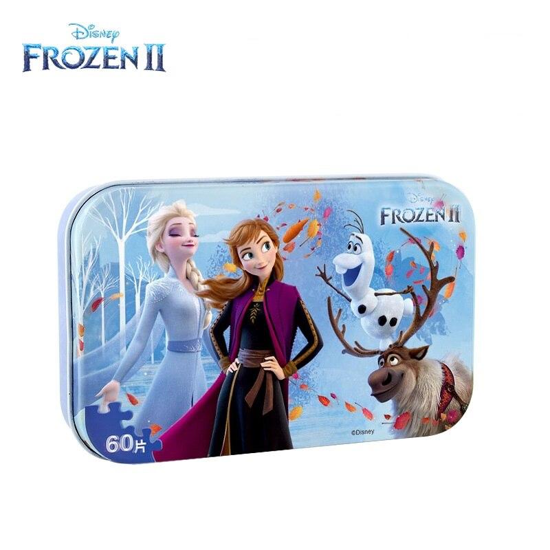 Nueva Marca Disney Frozen 2 juguete historia 4 rompecabezas Marvel vengadores congelados juguetes de los niños regalo de Navidad 8 unids/set Metal Montessori rompecabezas de alambre IQ cerebro Teaser rompecabezas niños adultos juego interactivo Reliever juguetes educativos