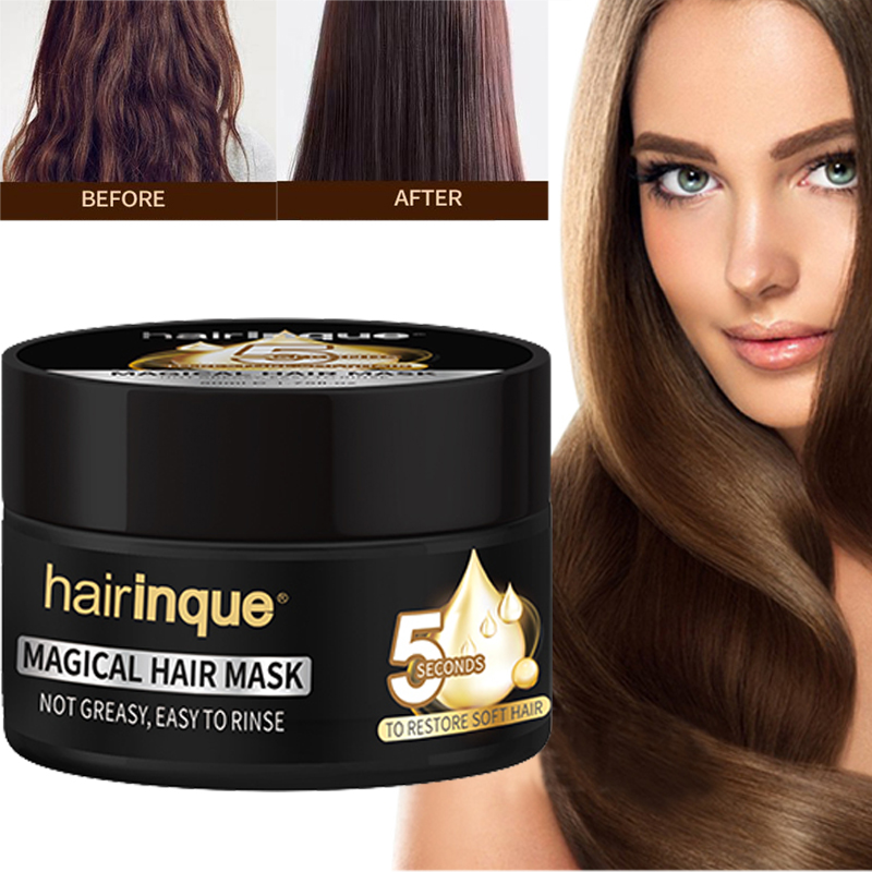 50ml Miracle Hair Treatment Mask Moisturizing Nourishing 5 Seconds Repairs Hair Damage Restore Soft Hair & Scalp Roots Care Mask