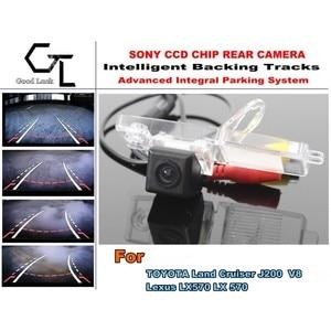 Dynamic Path / HD CCD Night Vision / Car Rear Camera / Reverse Camera For TOYOTA Land Cruiser J200 V8 For Lexus LX570 LX 570