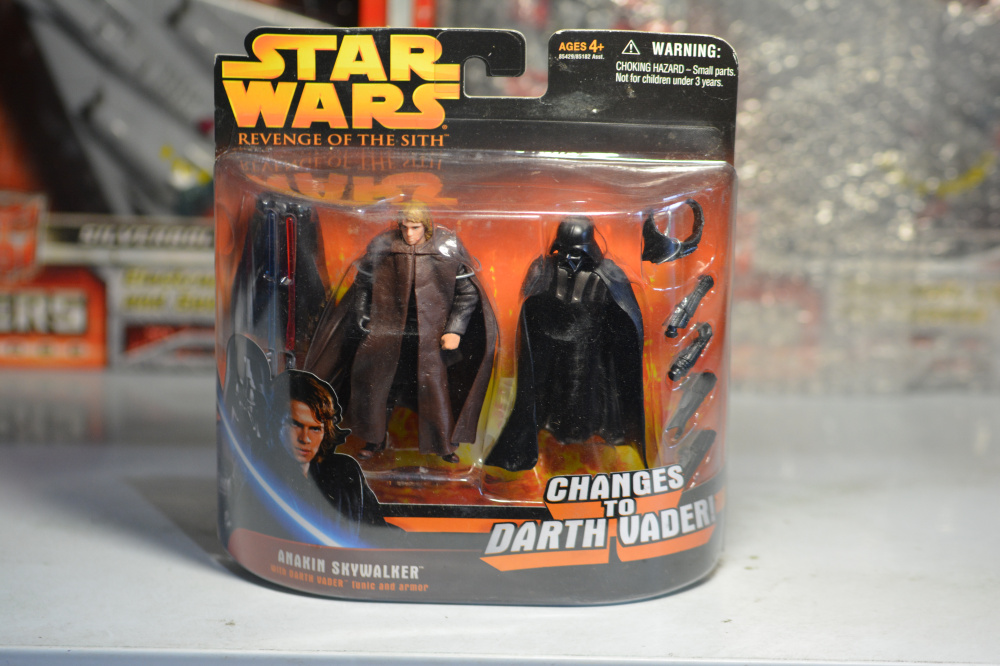 3 75inch Star Wars Revenge Of The Sith Anakin Skywalker Darth Vader Action Figure Collection Toys For Christmas Action Toy Figures Aliexpress