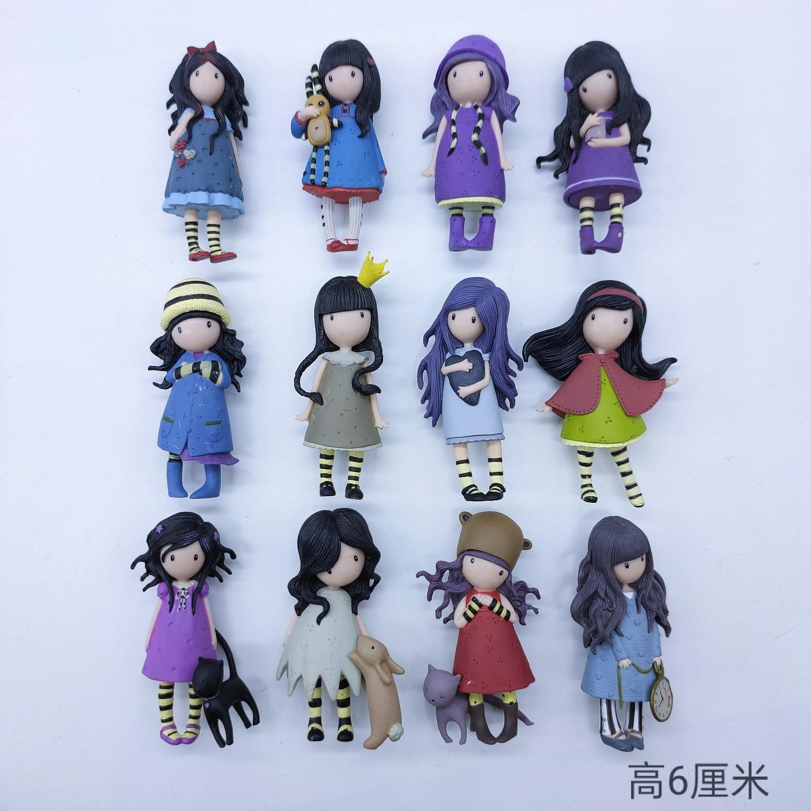Маленький Пластик Santoro London Gorjuss художник живопись девушка Фэнтези девочка кукла модель пирожное кукла подарок для девочки