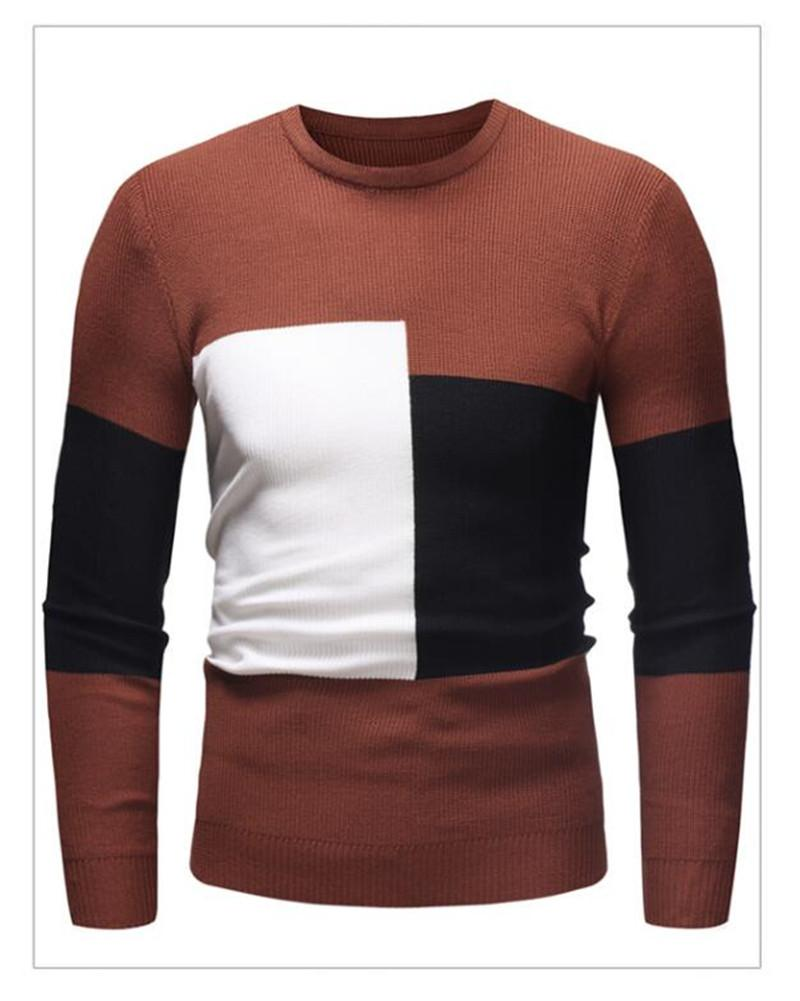 2021 Winter New Arrivals Thick Warm Sweaters O-Neck Wool Sweater Men Brand Clothing Knitted Cashmere Pullover Men M-2XL 2