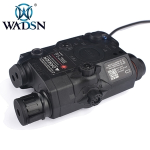Image 3 - WADSN Airsoft PEQ 15 LA5C Tactical PEQ 15 UHP Green/Red Dot Laser Without IR Flashlight Zero Reset Hunting Weapon Lights WEX453