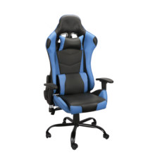 Four Colors Computer Desk Chair Gaming Chairs Office Swivel Chairs with Headrest and Lumbar Pillow US Warehouse