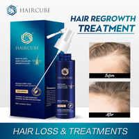 Aceite Esencial en Spray para el crecimiento rápido del cabello, líquido para hombres y mujeres, producto para la pérdida de cabello, reparación de la regeneración del cabello seco, cuidado del cabello denso