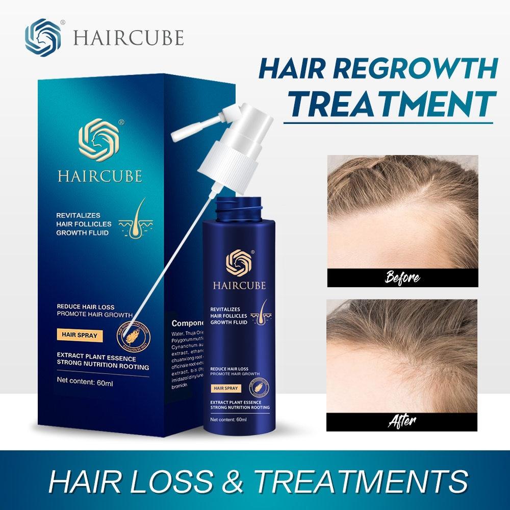 Anti Hair Loss Product Fast Hair Growth Spray Essential Oil Liquid For Men Women Dry Hair Regeneration Repair Dense Hair Care