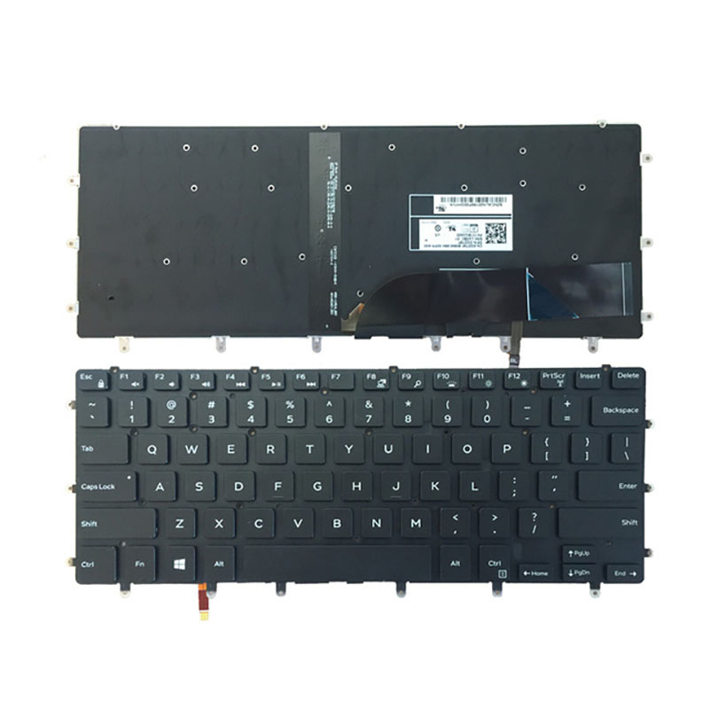 New US Keyboard FOR DELL XPS 15 9550 9560 laptop keyboard Backlight|Replacement Keyboards| |  - title=