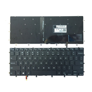 Image 1 - New US Keyboard FOR DELL XPS 15 9550 9560 laptop keyboard Backlight