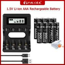 Аккумуляторная батарея palo 100% МВт/ч 15 в с ЖК дисплеем