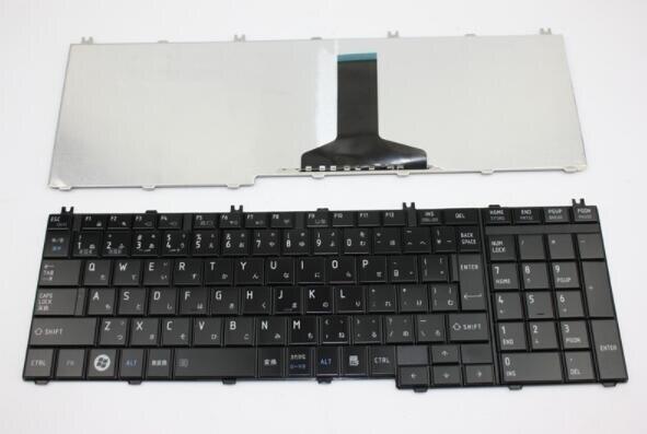 NEW JP JA FOR Toshiba Satellite C650 C655 C660 C670 C675 L750 L775 Japanese Keyboard Black