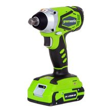 GREENWORKS 24V Lithium Battery 1/2 inch IMPACT WRENCH 300N.m cordless wrench with battery and charger